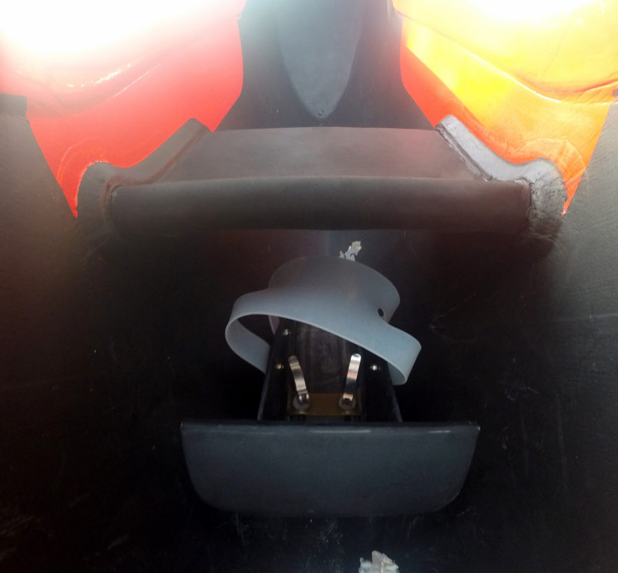 Seat and handles
