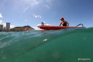 Ehukai OC1 canoe