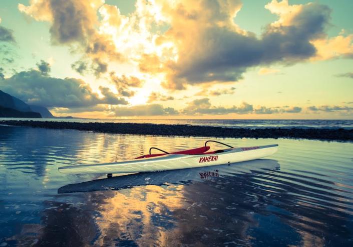 Kahe Kai Oc1 outrigger canoe