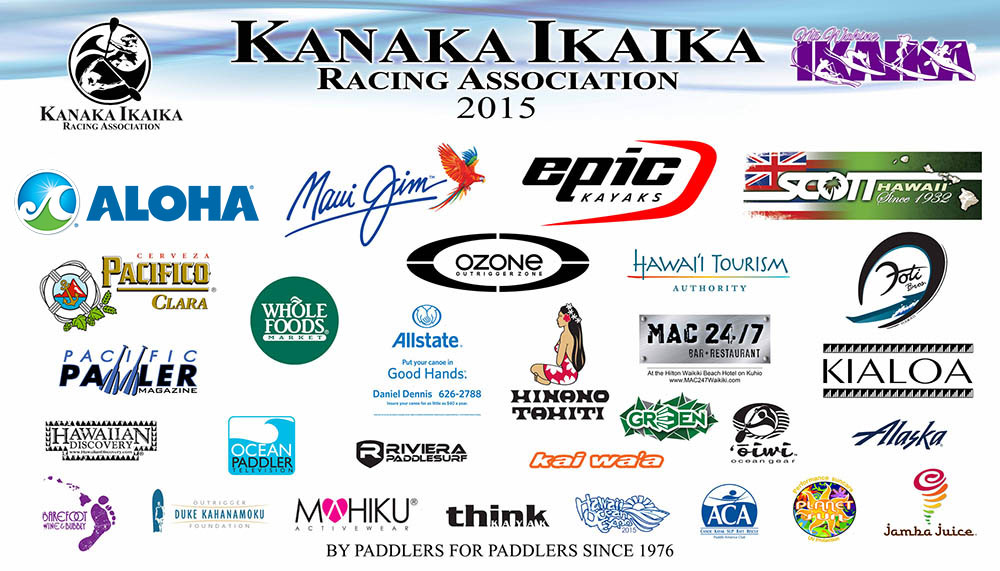 Kanaka Outrigger Racing Series Sponsors 2015
