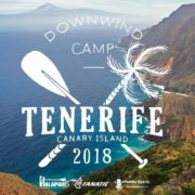 Downwind paddle camp tenerife