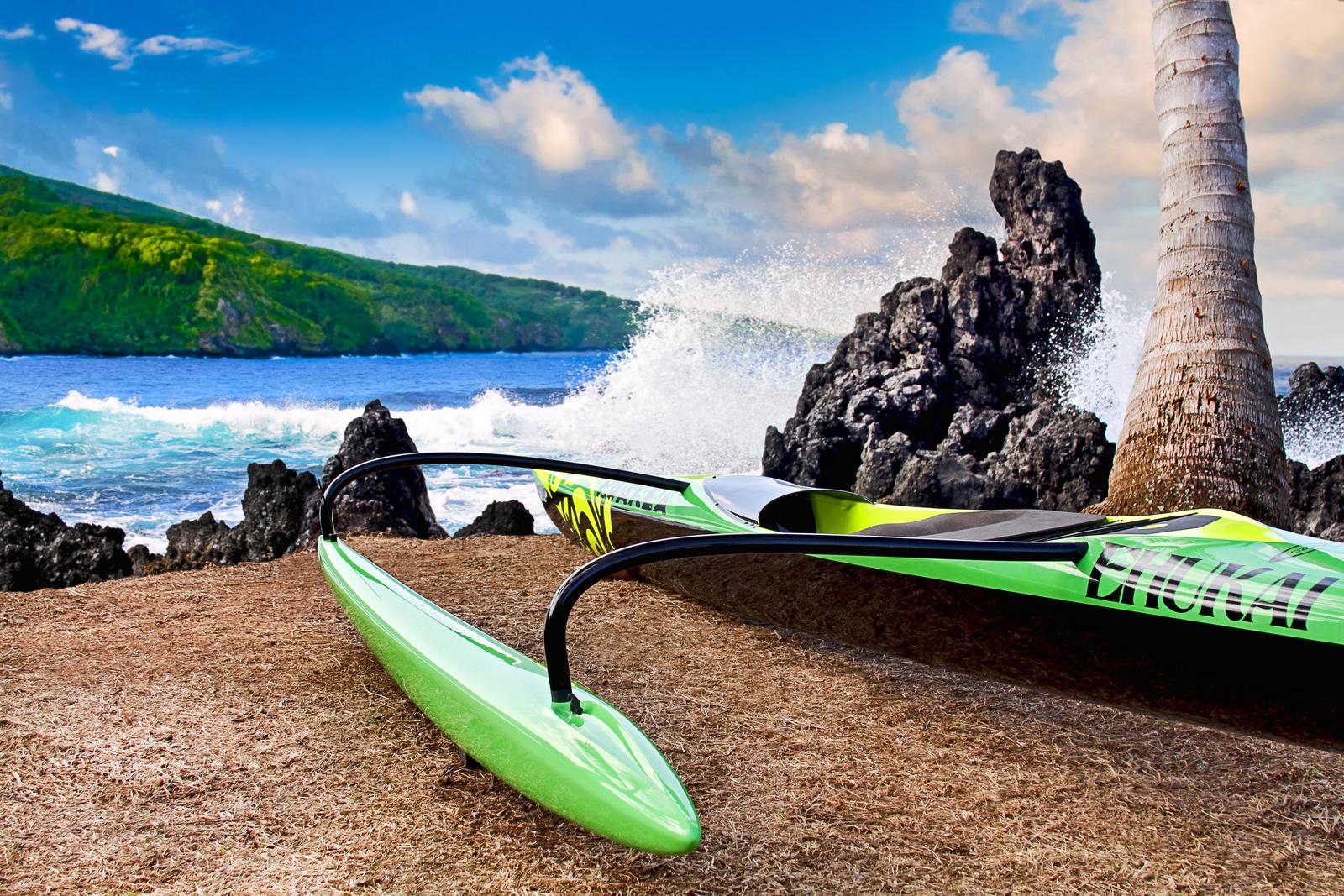 Ehukai OC1 Outrigger Canoe