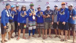 Hawaiian Canoe Club Seniors Men Champs