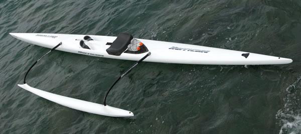 Hurricane OC1 - Outrigger Canoe - By Ozone