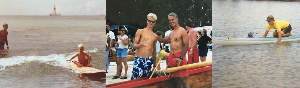 Jimmy Austin at Outrigger Canoe Club