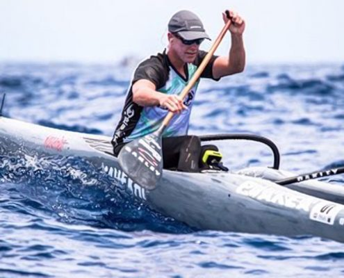 Johnny Puakea Presents the Kahe Kai Outrigger Canoe OC1