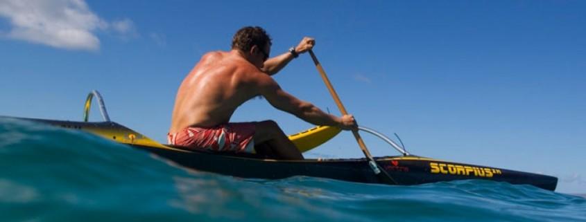 The Scorpius XS Hawaiian Ocean Canoe by Kai Bartlett Paddling