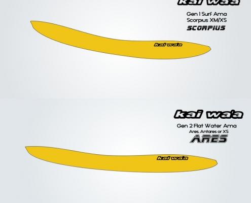 Kai Wa'a surf ama vs flatwater ama