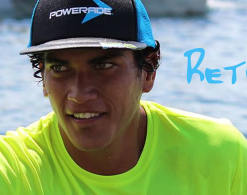 Rete Ebb - Canoe Paddling Champion from Tahiti